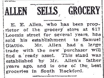 Allen Sells Grocery