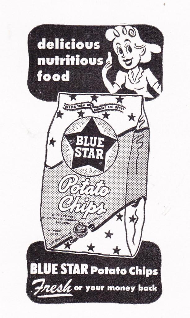Blue Star Potato