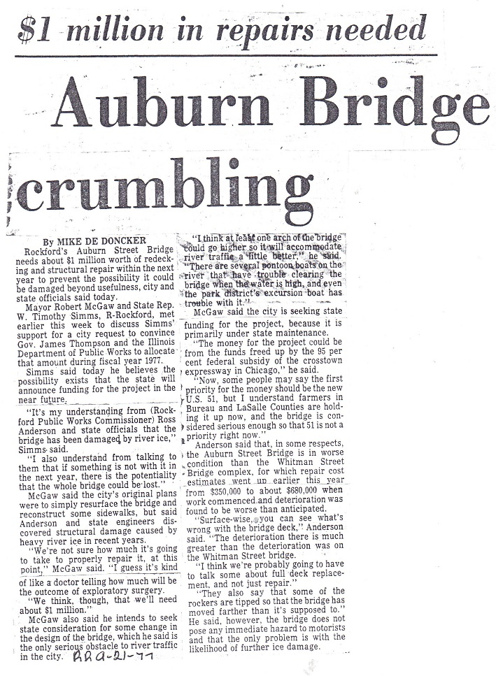 Bridge, Auburn St.
