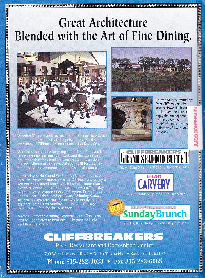 Cliffbreakers Ad 1996 sm