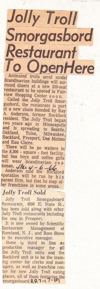 Jolly Troll Smorgasbord