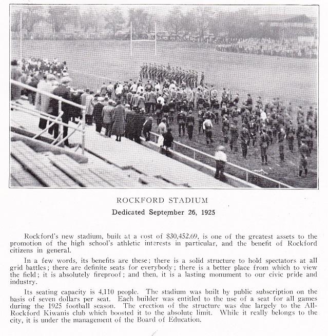 Rockford Stadium 1926