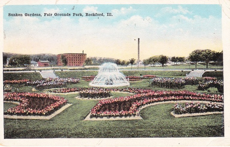 Fair Grounds post card