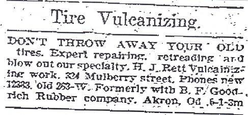 Tire Vulcanizing