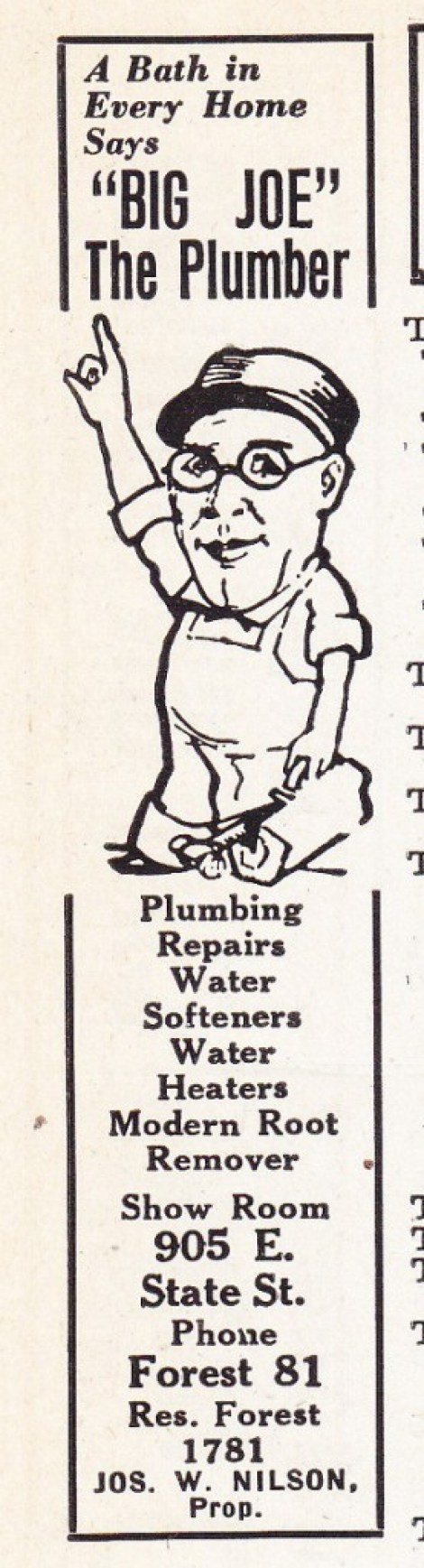Big Joe the Plumber