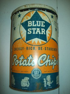 Blue Star Potato Chips