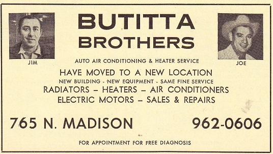 Butitta Bros 1970