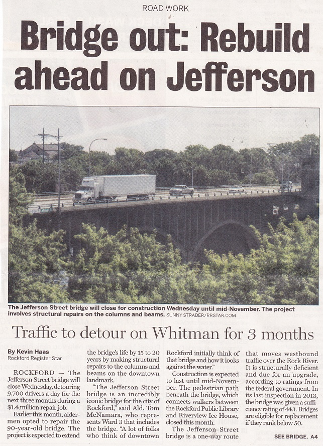 Jefferson St. Bridge 2015