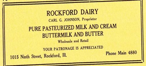 Rockford Diary ad
