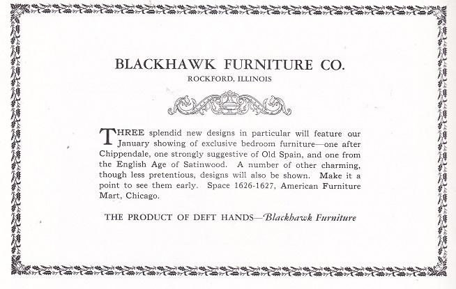 Blackhawk Furniture Co.