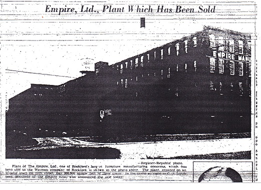 Empire Ltd plant sold