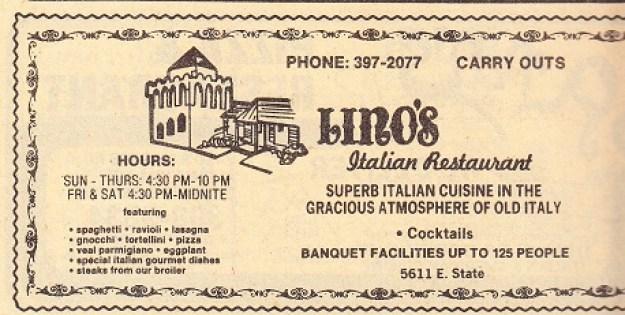 Lino's  1980