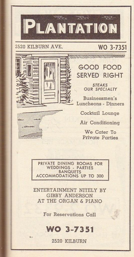 Plantation, The  restaurant