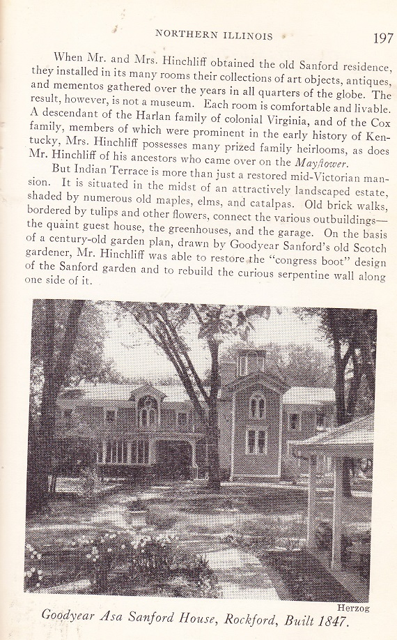 Goodyear Asa Sanford House