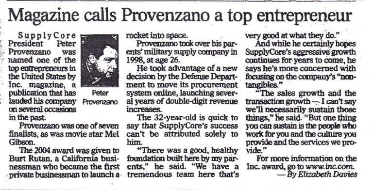 Magazine Calls Provenzano