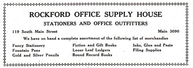 Rockford Office Supply House