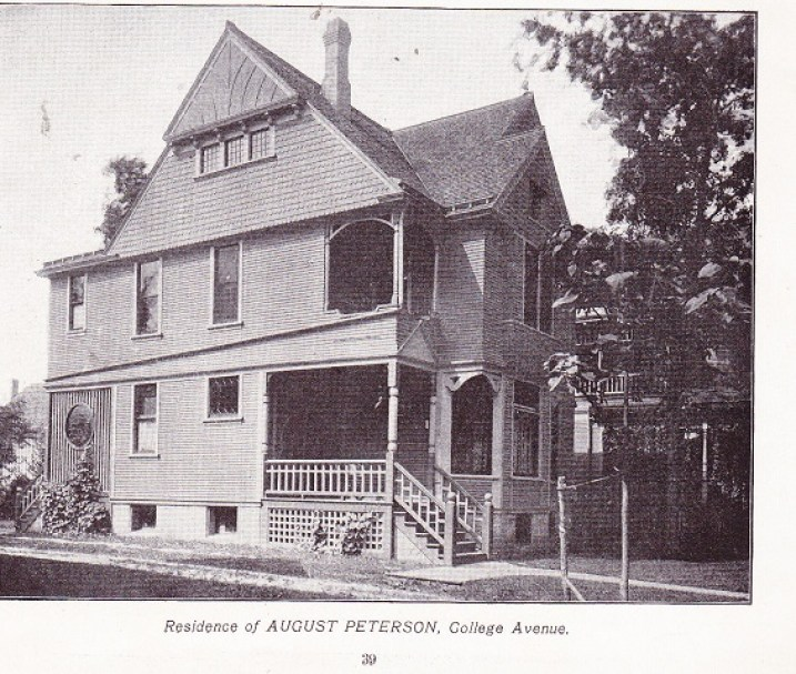 August Peterson house