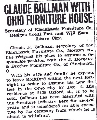 Blackhawk Furniture Co Rpl S Local History. Blackhawk Furniture   Interior Design
