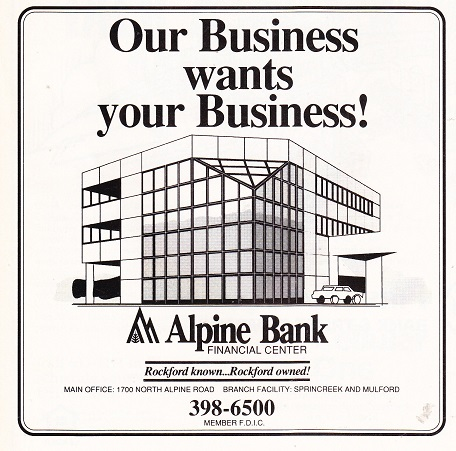 Alpine Bank 1990