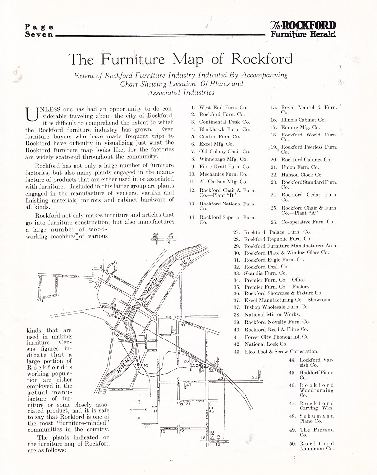 Furniture Map