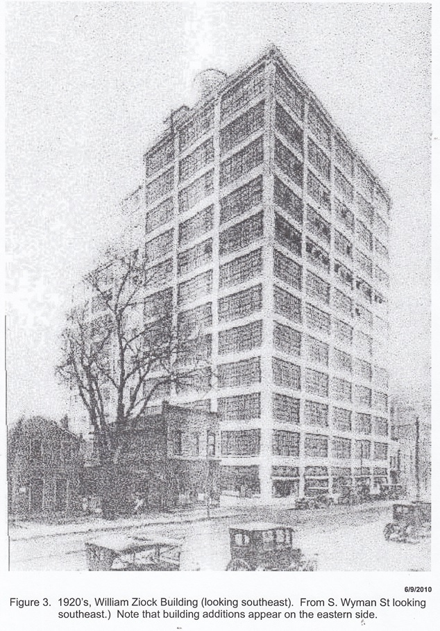 William Ziock Building 1920's