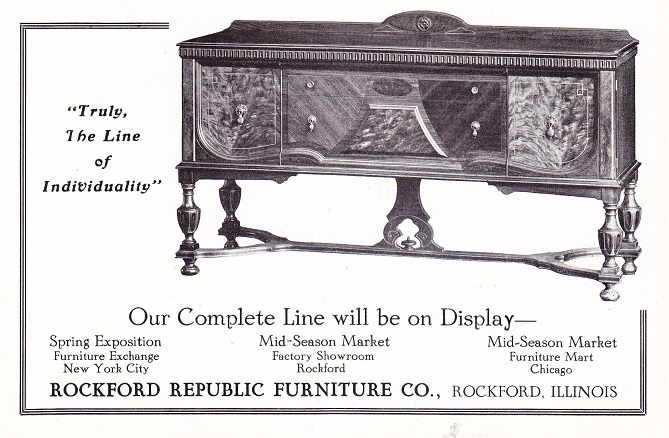 Rockford Republic Furniture Co Page 3 Rpl S Local History