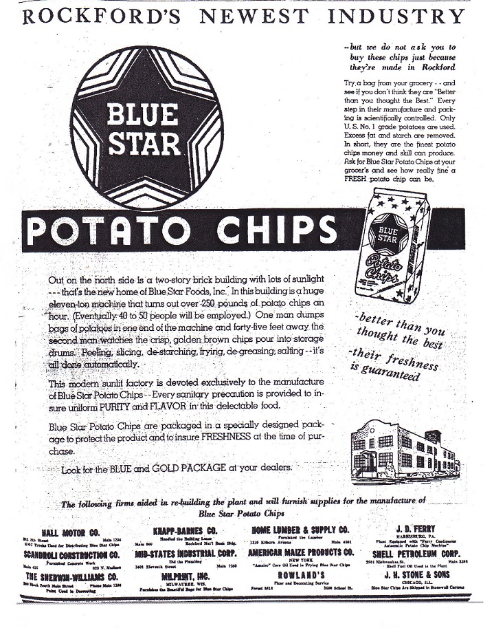 Blue Star Potato