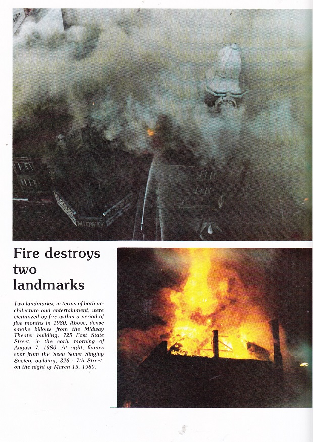 Fire Destroys