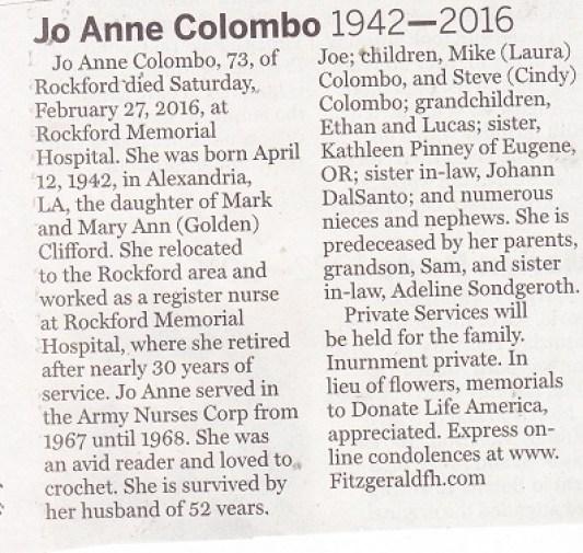 Jo Anne Columbo