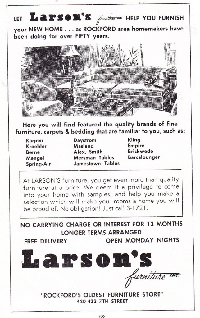 Larson's furniture