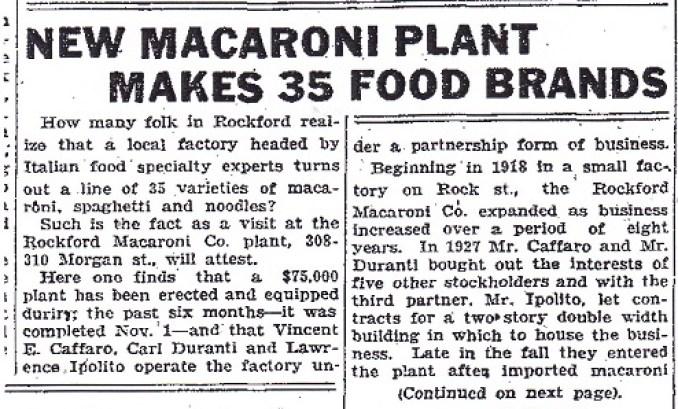 Macaroni Plant - 1