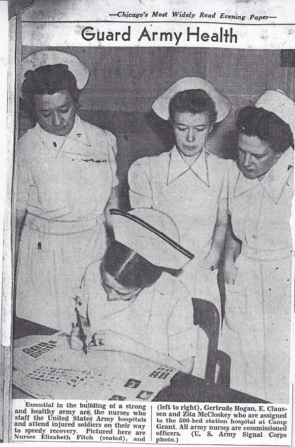 Camp Grant nurses