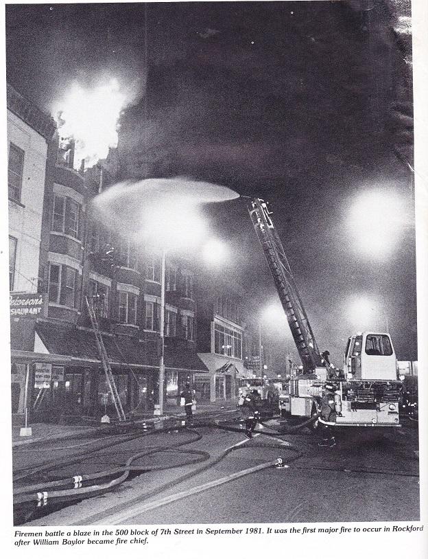 Fire 7th St