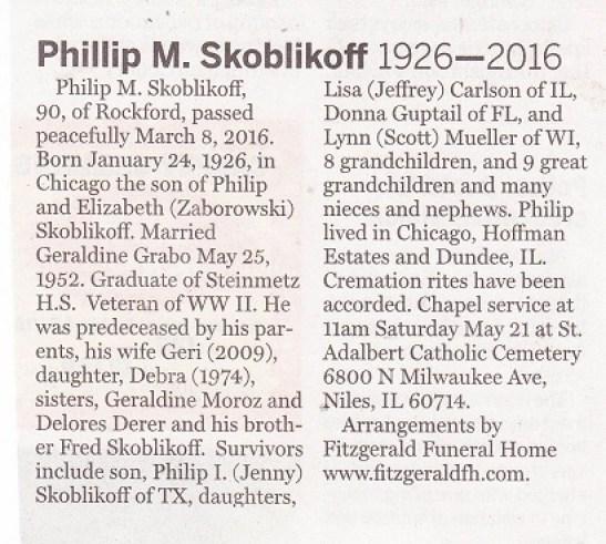 Phillip M. Skoblikoff