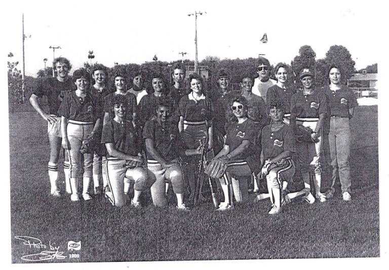 Riaa 1986 Women S Softball Elco Team Rpl S Local History