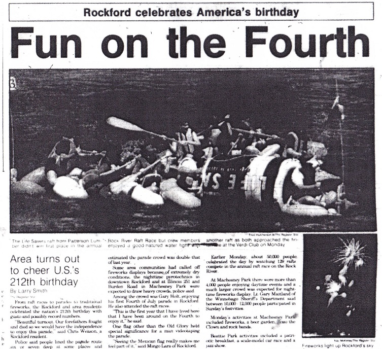 Fourth of July 1988