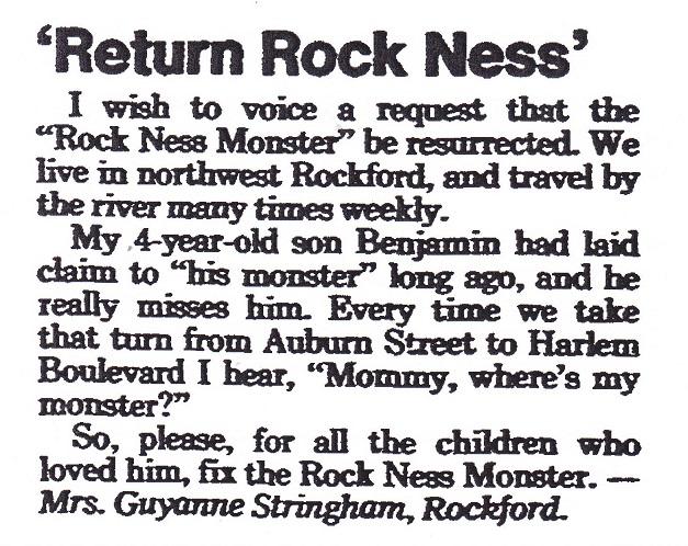 Rock Ness Letter