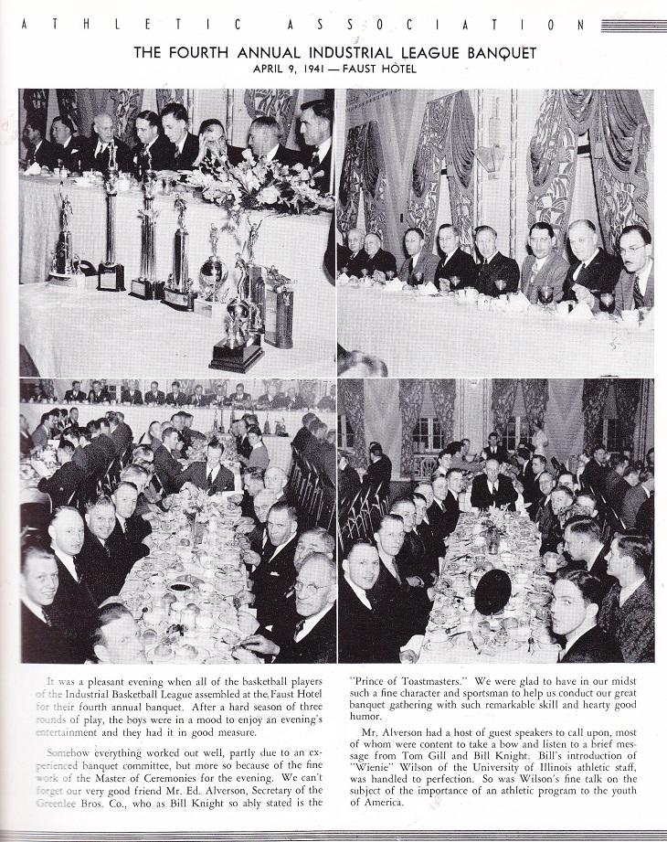 RIAA banquet 1941