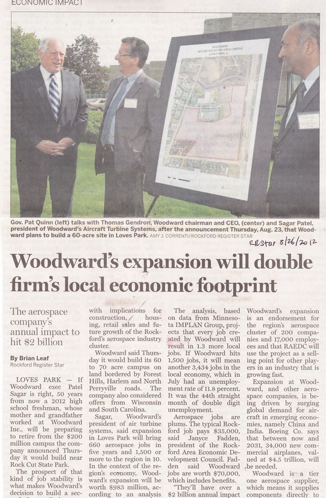 Woodward Governor Co Expansion