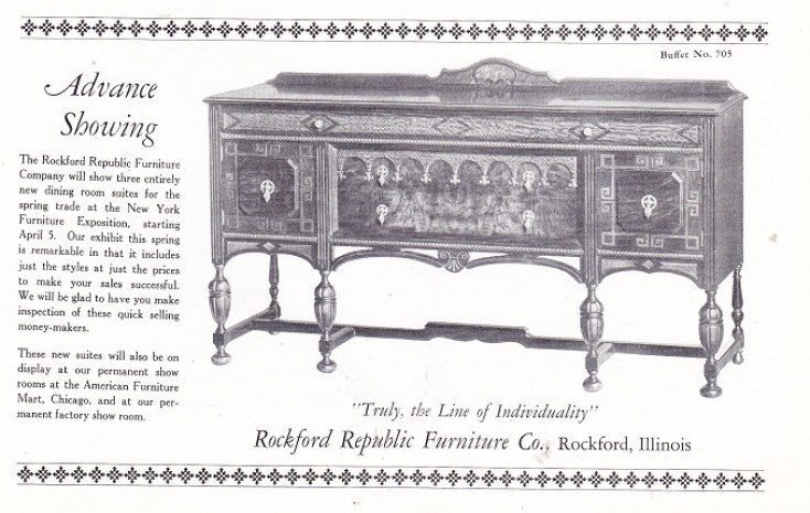 Rockford republic furniture co page 2 rpl 39 s local history for Furniture republic
