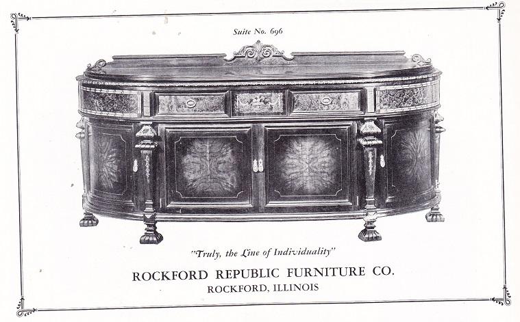 Rockford Republic Furniture Co Page 2 Rpl S Local History