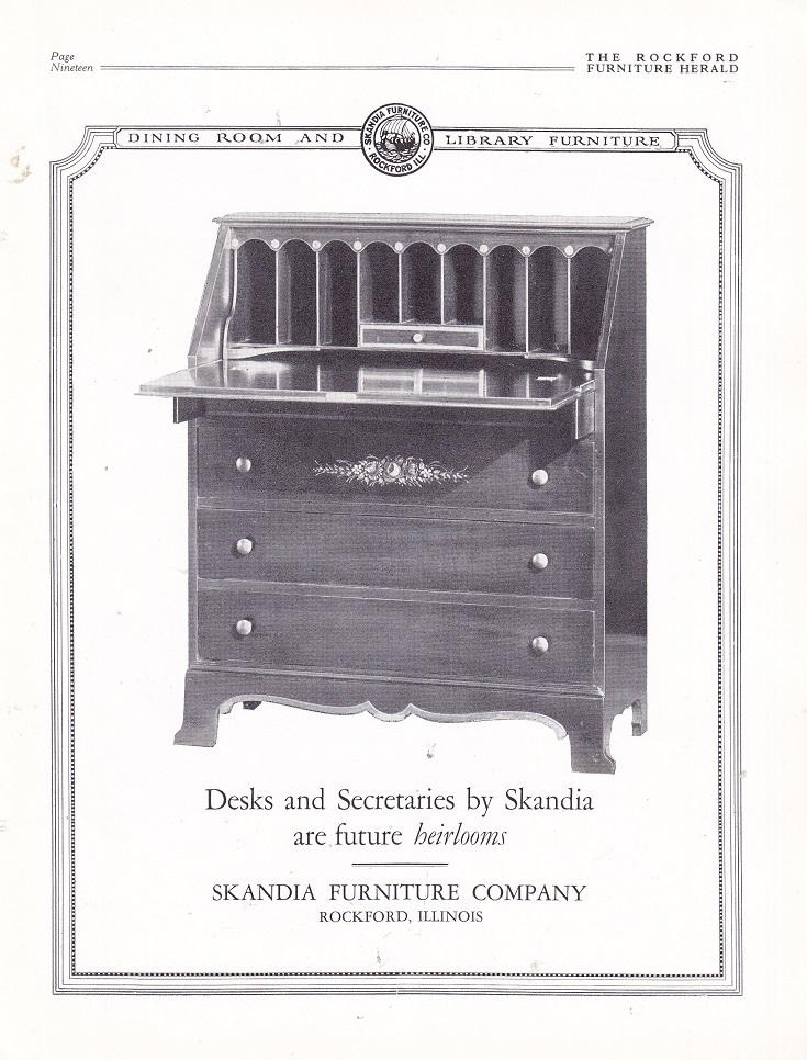 Incroyable Skandia Furniture Co. U2013 Oct. 1926