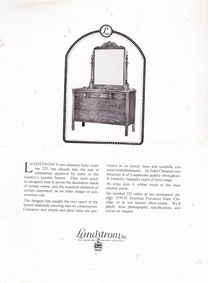 Landstrom Furniture Co. ...