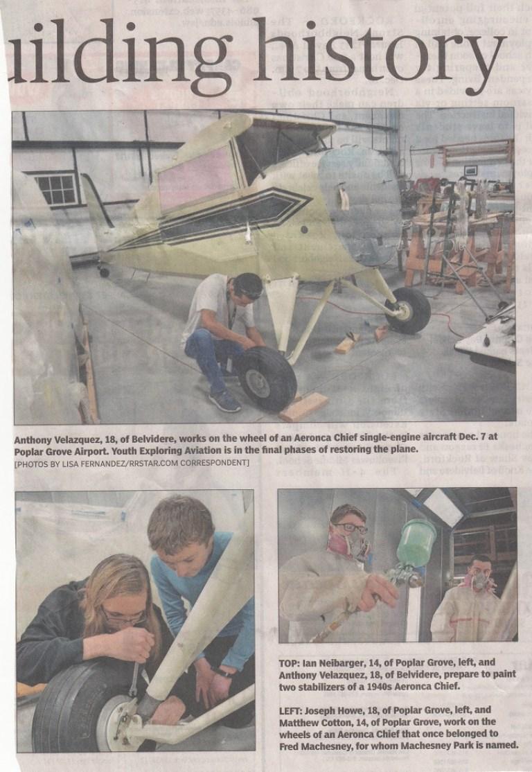 Rebuilding History (Aeronica Chief aircraft) – 12/13/2017