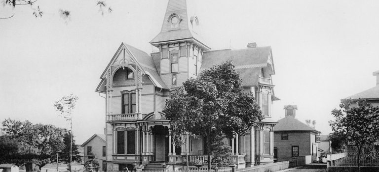807 West State – Home of Dr. E. C. Dunn in 1887