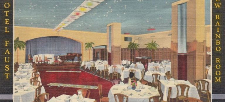 Rainbo Room  Hotel Faust  April 21,1935