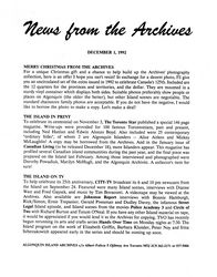 News from the Archives v01-4
