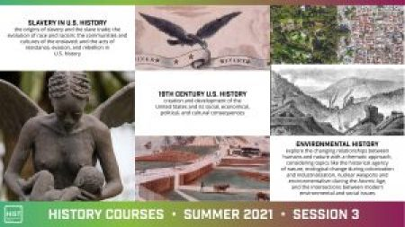 course flyer for 2021 Summer Session 3