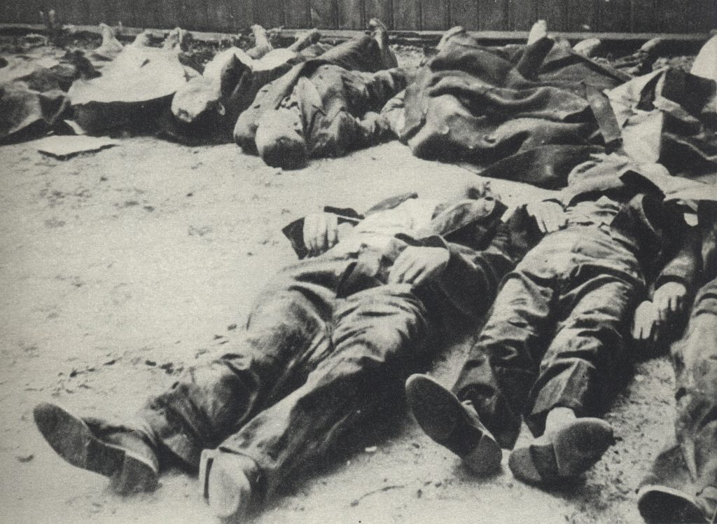 Victims of the Wola Massacre during the 1944 Warsaw Uprising. Over 30,000 civilians were murdered in just two days of the crackdown