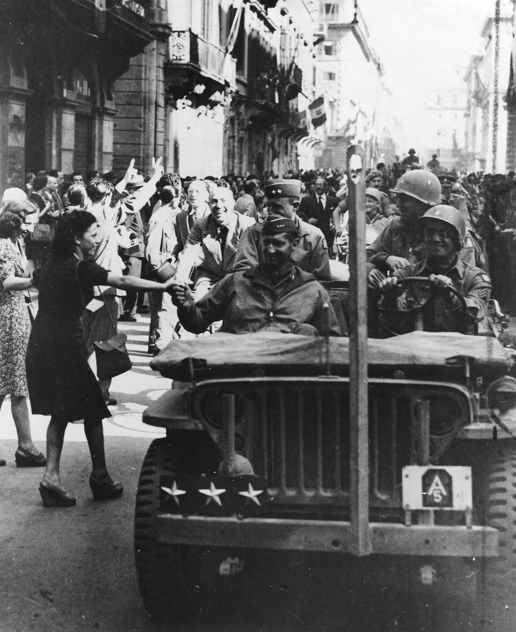 Image result for mark clark rome 1944
